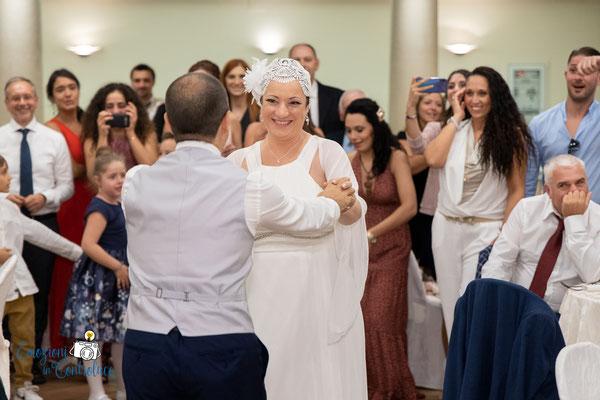 Il ballo degli sposi al ricevimento