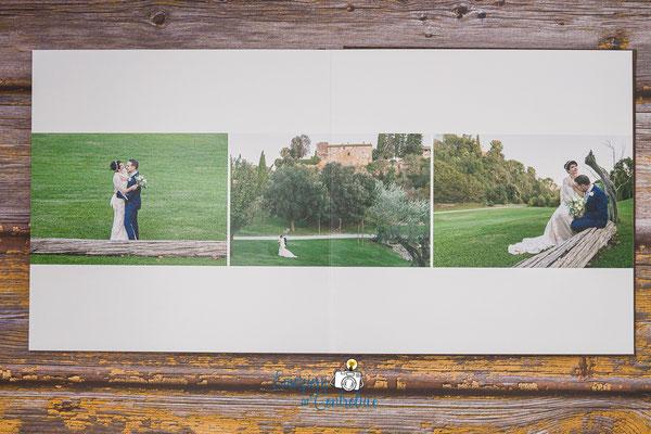 L'album di nozze compreso nei nostri servizi fotografici matrimoniali