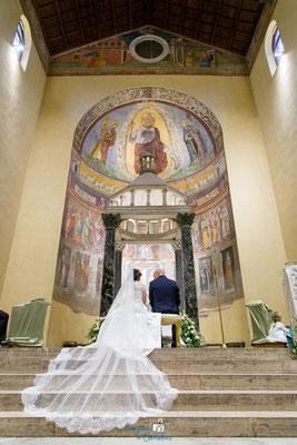 Cerimonia: matrimonio alla Basilica di San Saba a Roma