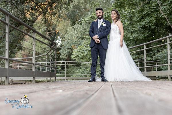 Danilo ed Erica: gli sposi a La Cartiera del Vetojo per il ricevimento