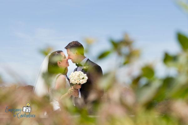 Giardino degli aranci: gli sposi