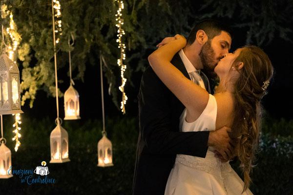 in conclusione di giornata, uno dei baci più dolci della gioranta