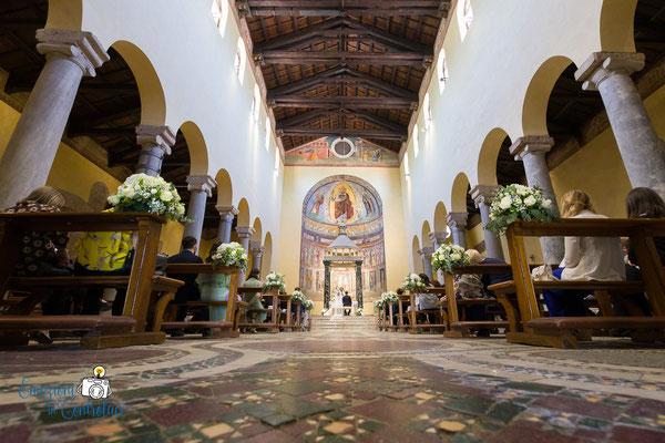 Il matrimonio nella Basilica di San Saba a Roma