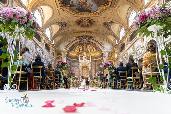 Luigi e Costanza: matrimonio in Santa Cecilia in Trastevere, Roma