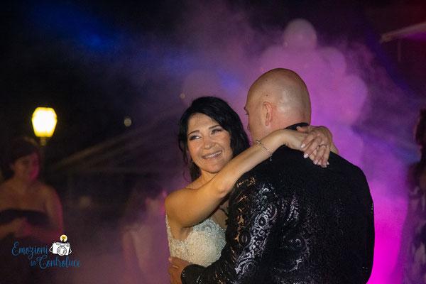il ballo degli sposi a Casale Realmonte a Roma
