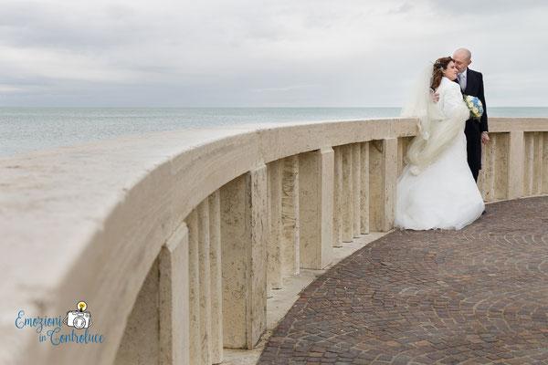 Il pontile di Ostia, fotografie dopo il matrimonio