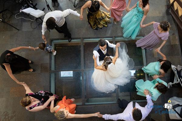 Danilo ed Erica: fotografie del ballo degli sposi
