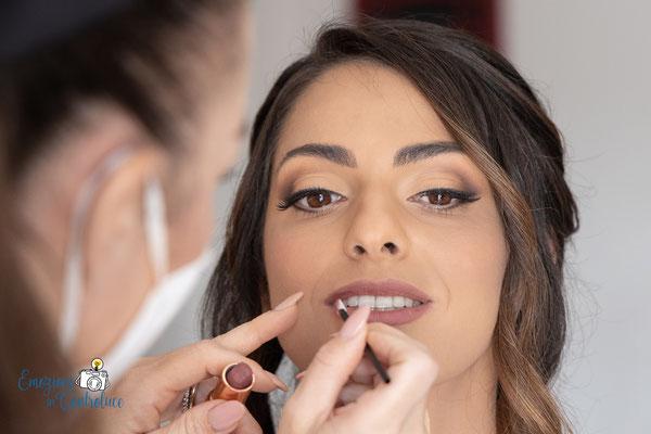 La preparazione della sposa - MUA Laura Coco