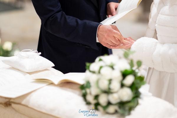 Lo scambio degli anelli: matrimonio a San Saba