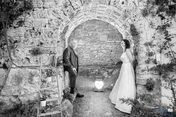 Fotografie di coppia dopo la cerimonia