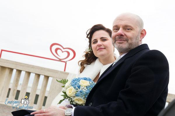 scatti di coppia dopo il matrimonio