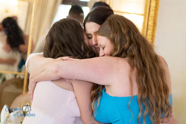 La dedica delle amiche della sposa