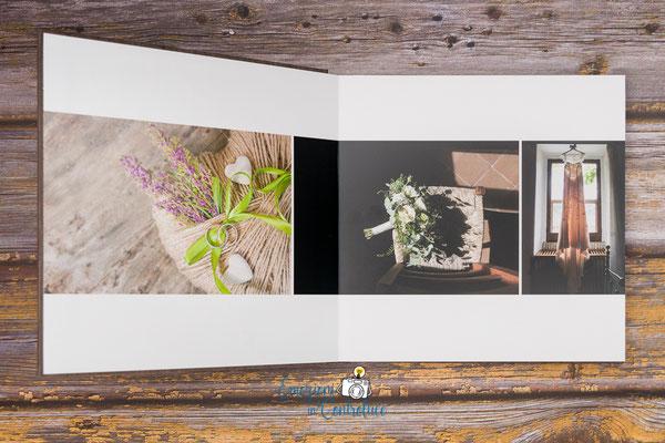 Impaginazione fotografie del matrimonio nei nostri album di nozze