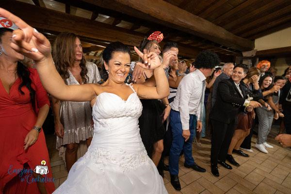 I balli durante il ricevimento