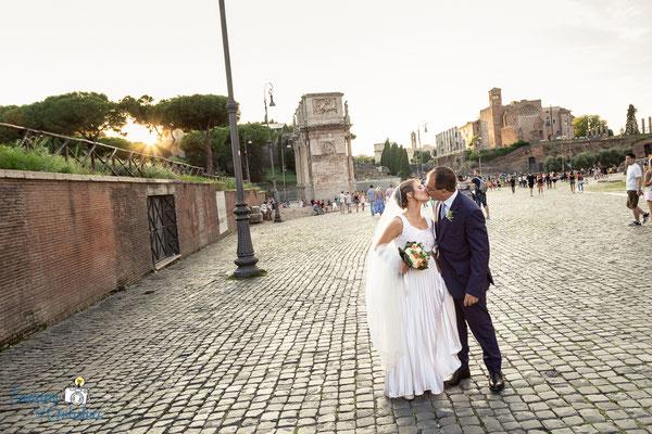 Claudio e Annamaria - le fotografie della coppia, prima del ricevimento