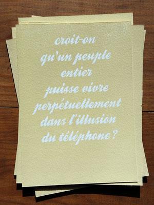 Linographe Diois