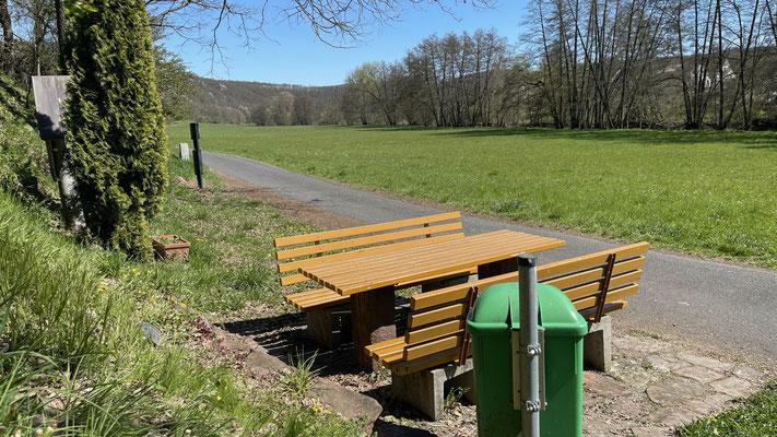 Ort: Schafhof, nach dem Bio-Bauernhof