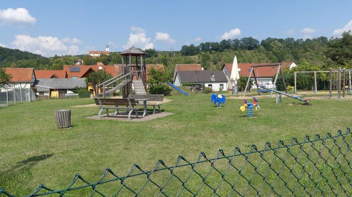 Kinderspielplatz / Ort: untere Klosterfeldstraße