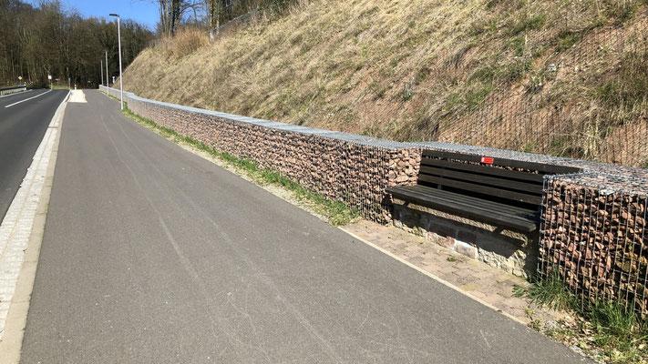 Ort: Schrenk, Rad- und Fußweg Richtung Wittershausen