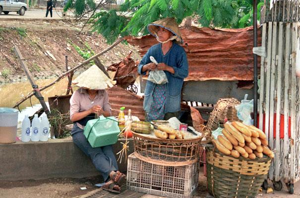 ...die Baguettes in Vientiane waren der Hammer...Frankreich lässt grüssen...