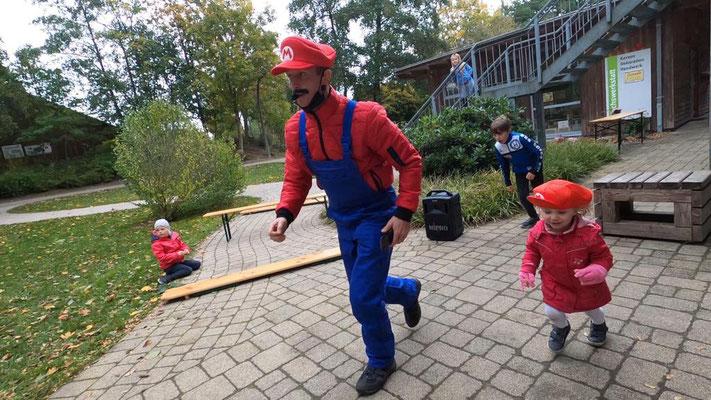 Kinderanimation auf dem Campingplatz Wiesmoor Ostfriesland