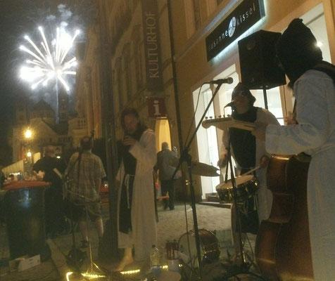 Le Feuerwerk - ah oui, c´est besinnlich !