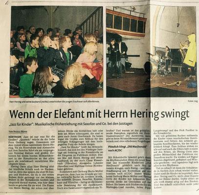 Nürtinger Zeitung 03.03.2015
