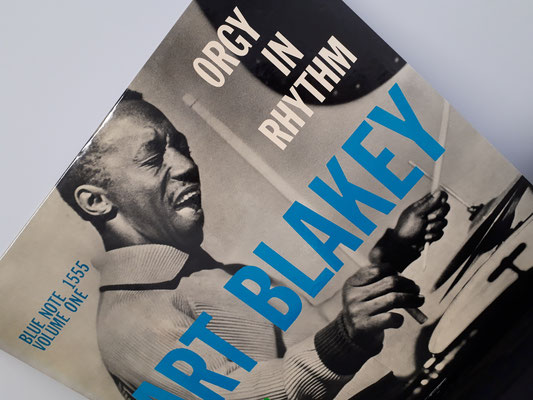 1555  ART BLAKEY   orgy in rhythm