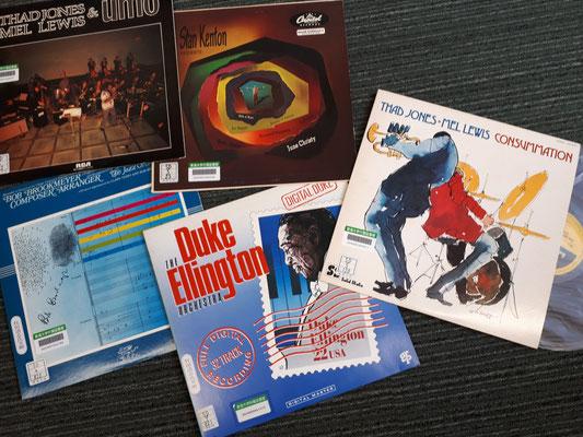 モダンビッグバンドのレコード