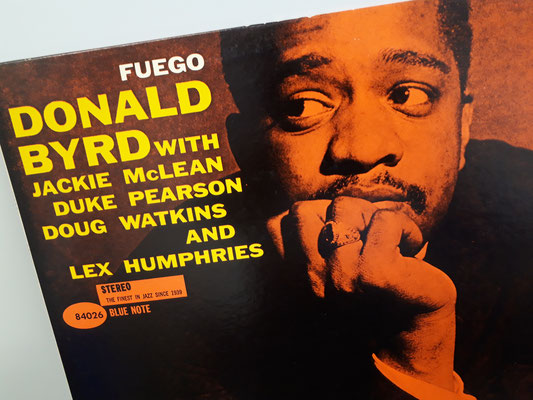 4026  DONALD BYRD fuego