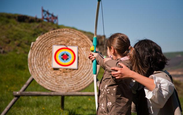 Atelier de tir à l'arc, Calmont d'Olt