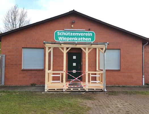 """Terrassendach aus Holz """"Wiepenkathen"""" (3) Foto: KÄPPLER BauTischlerei"""