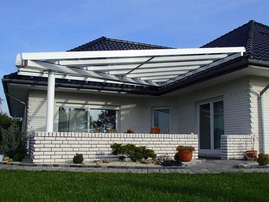 """Terrassendach aus Aluminium, """"Hemmoor"""" (3) - Foto: KÄPPLER BauTischlerei"""
