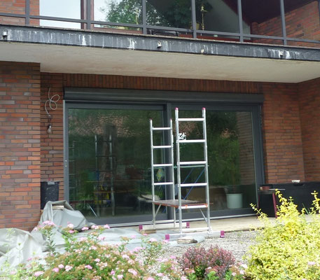 "Hebe-Schiebe-Tür ""Holz-Aluminium"" - Foto (2) : KÄPPLER BauTischlerei"