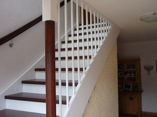 """Holztreppe an und auf Beton """"Jork"""" (4) - Foto: Käppler BauTischlerei"""