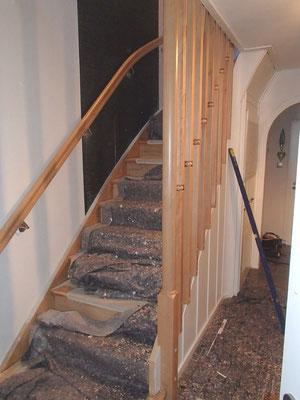 Treppenrenovierung Elm - Foto (7): KÄPPLER BauTischlerei