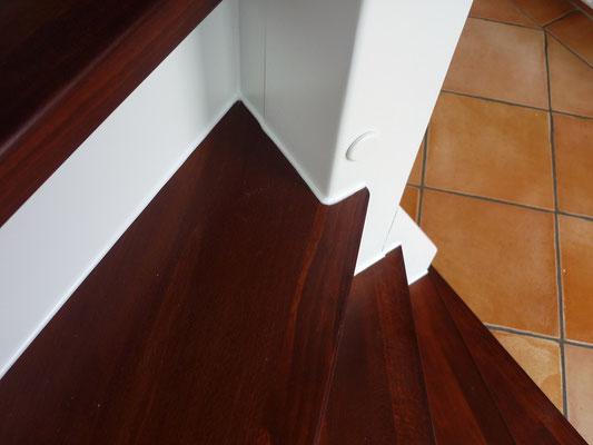"""Holztreppe an und auf Beton """"Jork"""" (6) - Foto: Käppler BauTischlerei"""