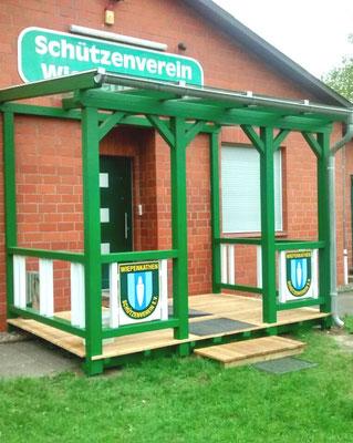 """Terrassendach aus Holz """"Wiepenkathen"""" (1) Foto: KÄPPLER BauTischlerei"""