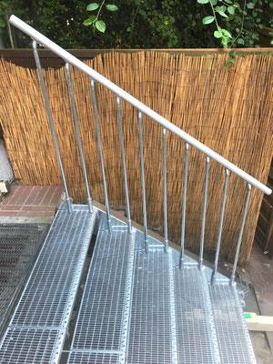 """Treppe im Außenbereich """"Fischmarkt"""" - Foto (5): KÄPPLER BauTíschlerei"""