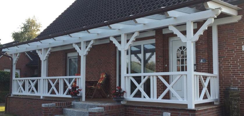 """Terrassendach aus Holz, """"Himmelpforten"""" (4) - Foto: KÄPPLER BauTischlerei"""