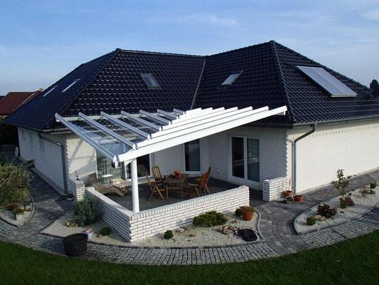 """Terrassendach aus Aluminium, """"Hemmoor"""" (1) - Foto: KÄPPLER BauTischlerei"""
