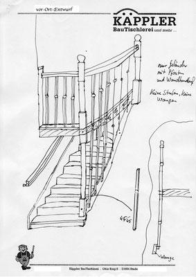 Treppenrenovierung Elm - Foto (1): KÄPPLER BauTischlerei