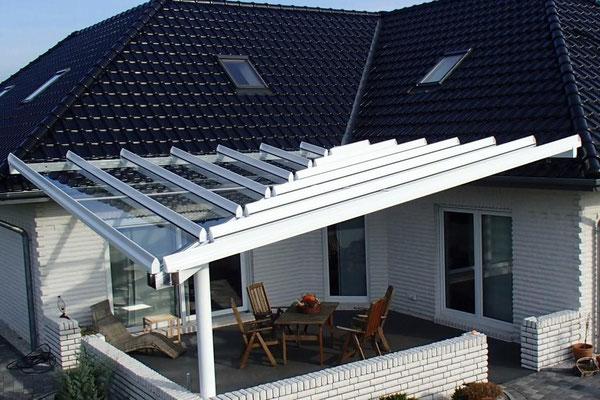 """Terrassendach aus Aluminium, """"Hemmoor"""" (4) - Foto: KÄPPLER BauTischlerei"""
