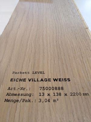 """Bodenbelag Parkett """"Eiche Village weiß"""" (4) - Foto: KÄPPLER BauTischlerei"""