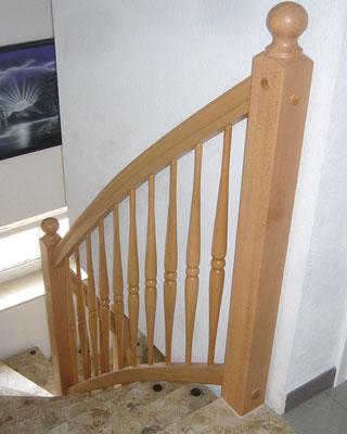 """Holztreppe an und auf Beton """"Wiepenkathen"""" (3) - Foto: Käppler BauTischlerei"""