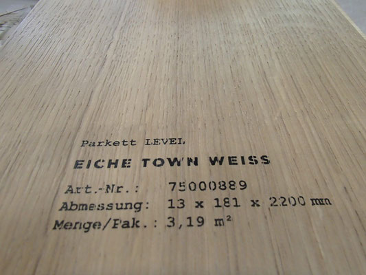 """Bodenbelag Parkett """"Eiche Town weiß"""" (1) - Foto: KÄPPLER BauTischlerei"""