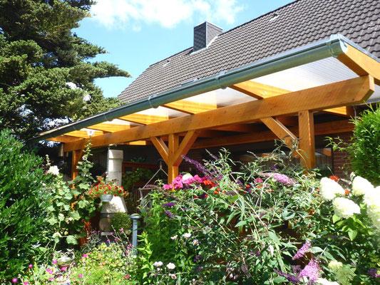 """Terrassendach Holz """"Fredenbeck"""" (1) - Foto: KÄPPLER BauTischlerei"""