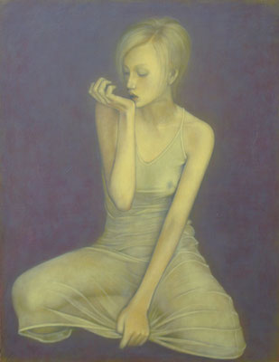 時のうつろい The changing of the time Oil on canvas 1178x893mm 2011