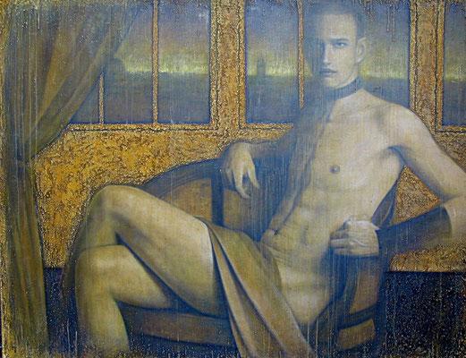 迫る闇  Approaching darkness  Oil on canvas 893x1178mm 2011