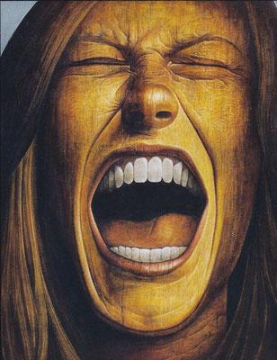 悽愴 Uuhappiness Oil on canvas 1178x893mm 2000
